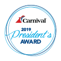 Carnival Cruise Line Supplier Award